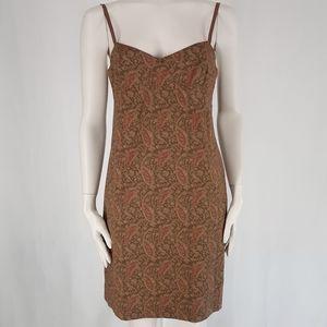 Ralph Lauren | Vintage 90's Paisley Dress